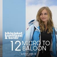 Harga Bikin Jacket Parasut Bahan Micro Hingga Taslan Balon Import