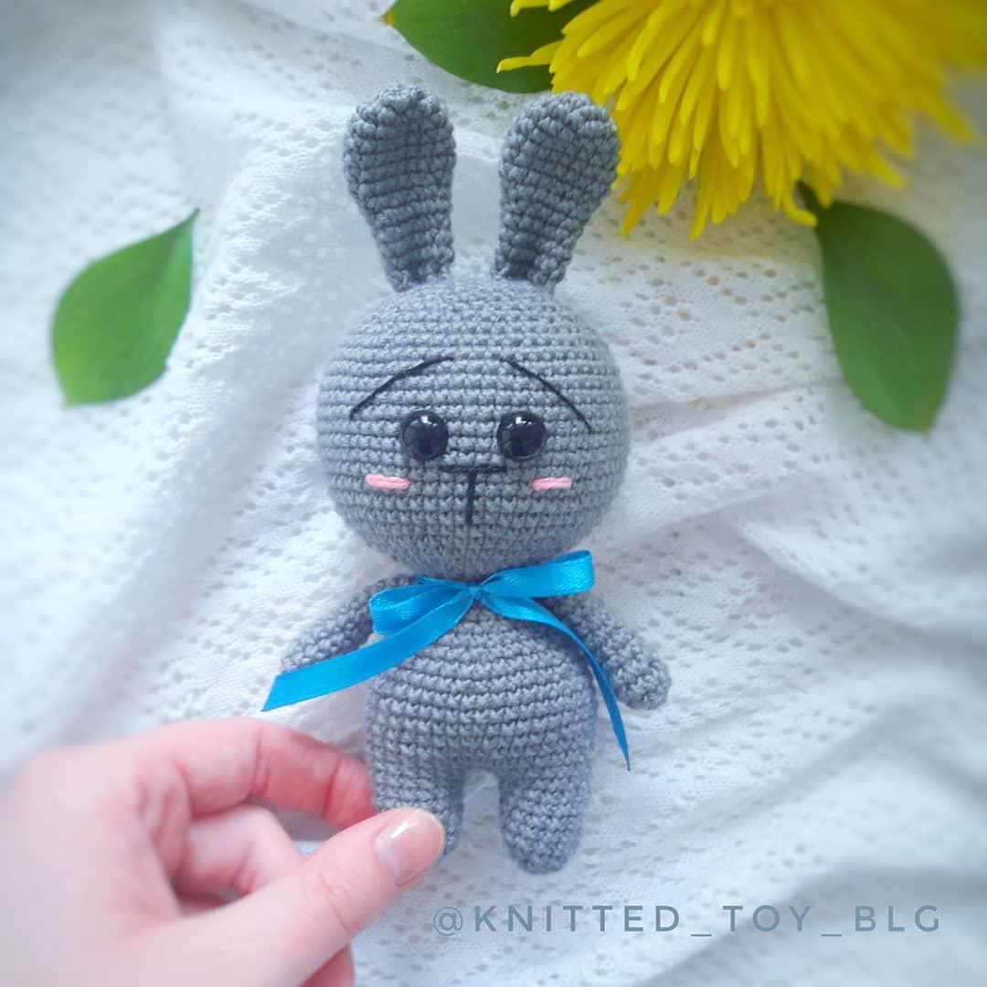 Amigurumi Pretty Bunny Free Crochet Pattern - Amigurumi Crochet | 1080x1080