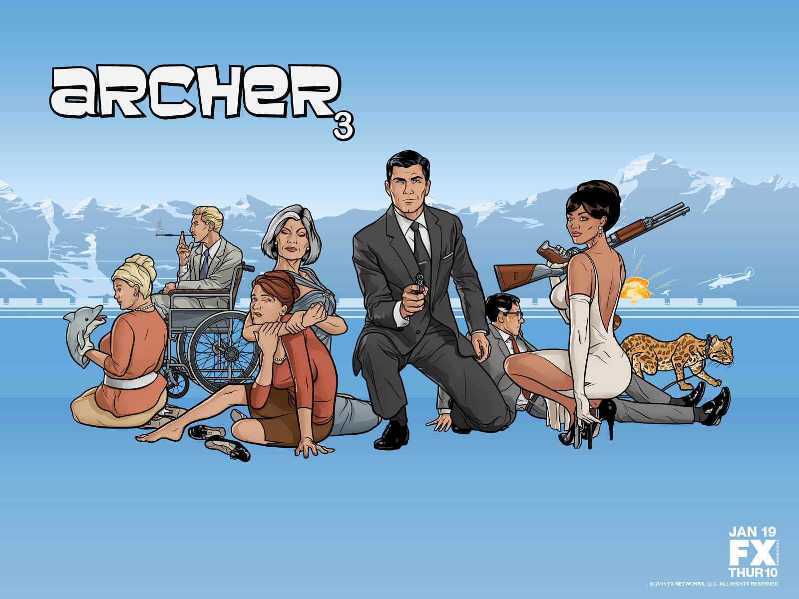 The Wertzone: Archer: Seasons 1-6