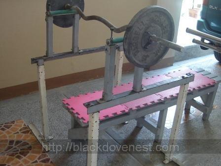 Homemade Bench Press Rack Blackdove Nest