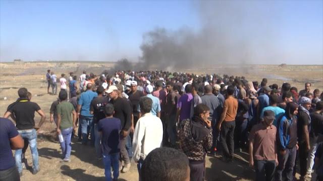 Al menos 52 palestinos muertos por fuego israelí en las protestas