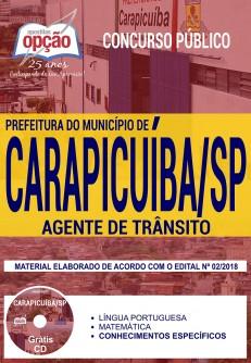 Apostila Agente de Trânsito Prefeitura de Carapicuíba