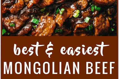 Easiest Mongolian Beef Recipe