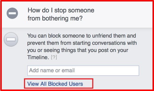 how do you unblock someone from facebook