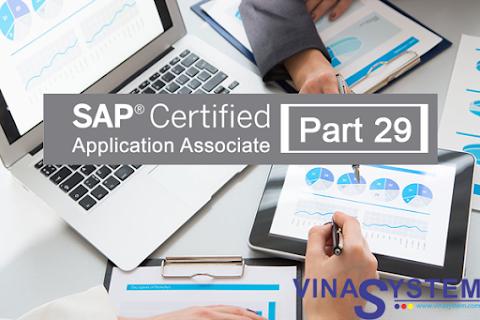 Bộ câu hỏi chứng chỉ SAP Business One (Phần 29)