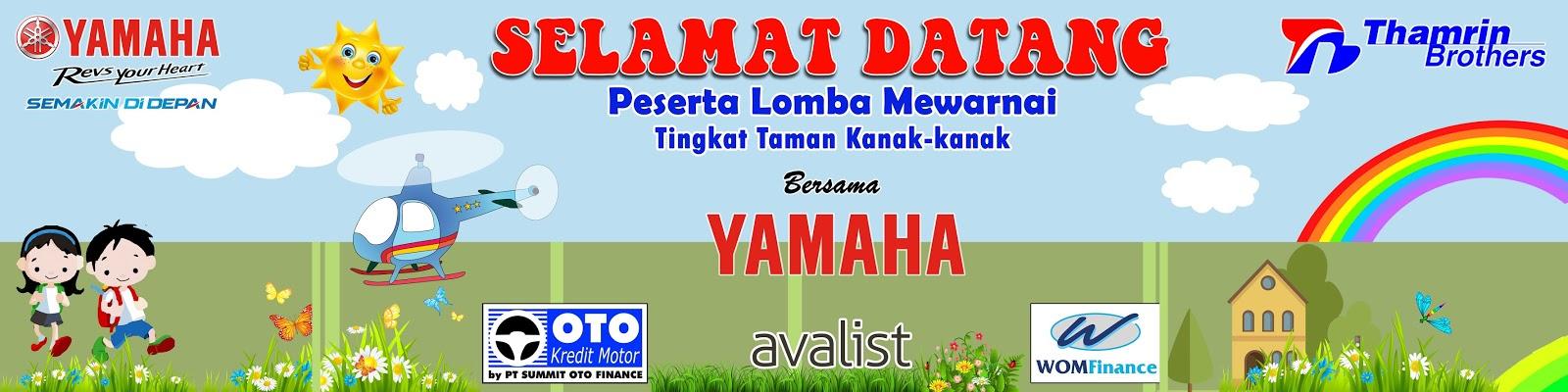 Contoh Banner Lomba Mewarnai Contoh