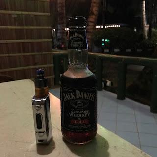 Jack Daniels PHP60 (almost $1) at Dumaluan Beach Resort