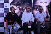 Bollywood Actress Raveena Tandon in Transparent Green Saree at Trailer Launch Of Film Maatr  0018.JPG