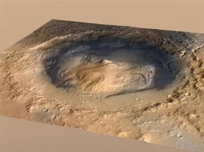 Σε αρειανό βουνό ύψους 5 χιλιομέτρων θα αναρριχηθεί το ρομπότ Curiosity