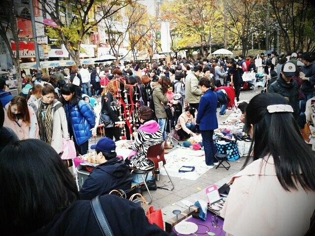 韓國隨心遊: 首爾弘大自由市場프리마켓