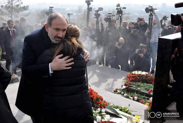 Armenia rinde homenaje a las victimas de 2016