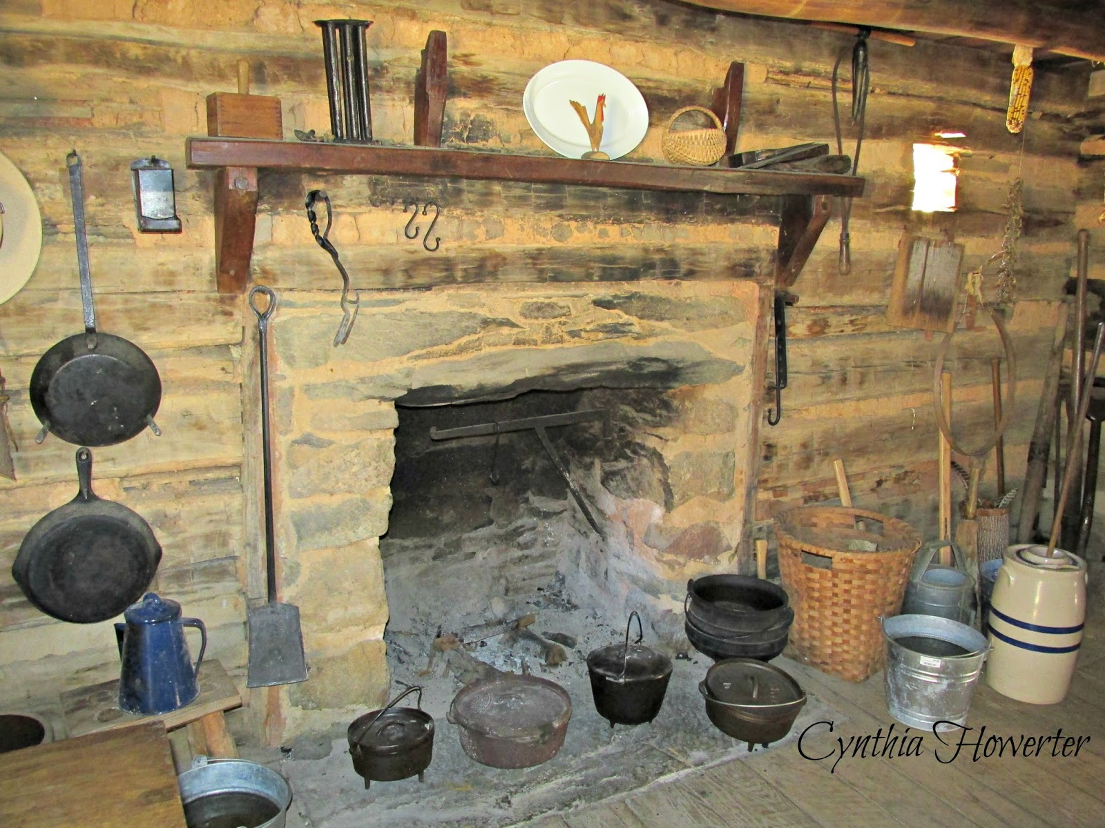 Colonial Quills A 1700s Log Cabin In Virginia S Blue