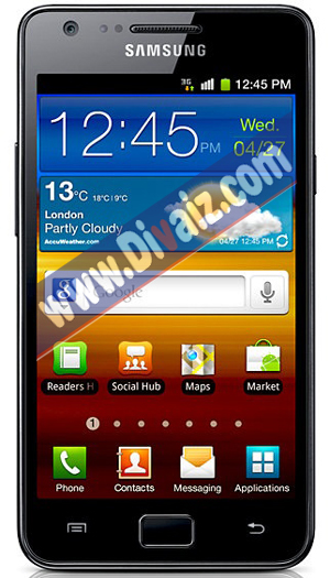 Samsung Galaxy S2 Hitam - www.divaizz.com