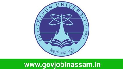 Tezpur University Recruitment 2018