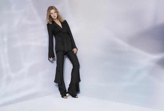 Natalia Vodianova for H&M Conscious Exclusive Spring 2017 - tuxedo