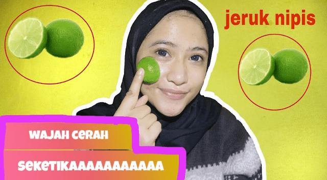 Memanfaatkan Jeruk Nipis Untuk Masker Wajah