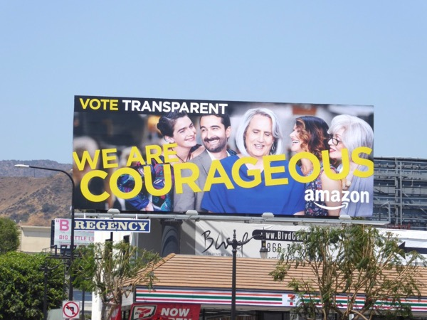 Transparent Courageous 2017 Emmy billboard