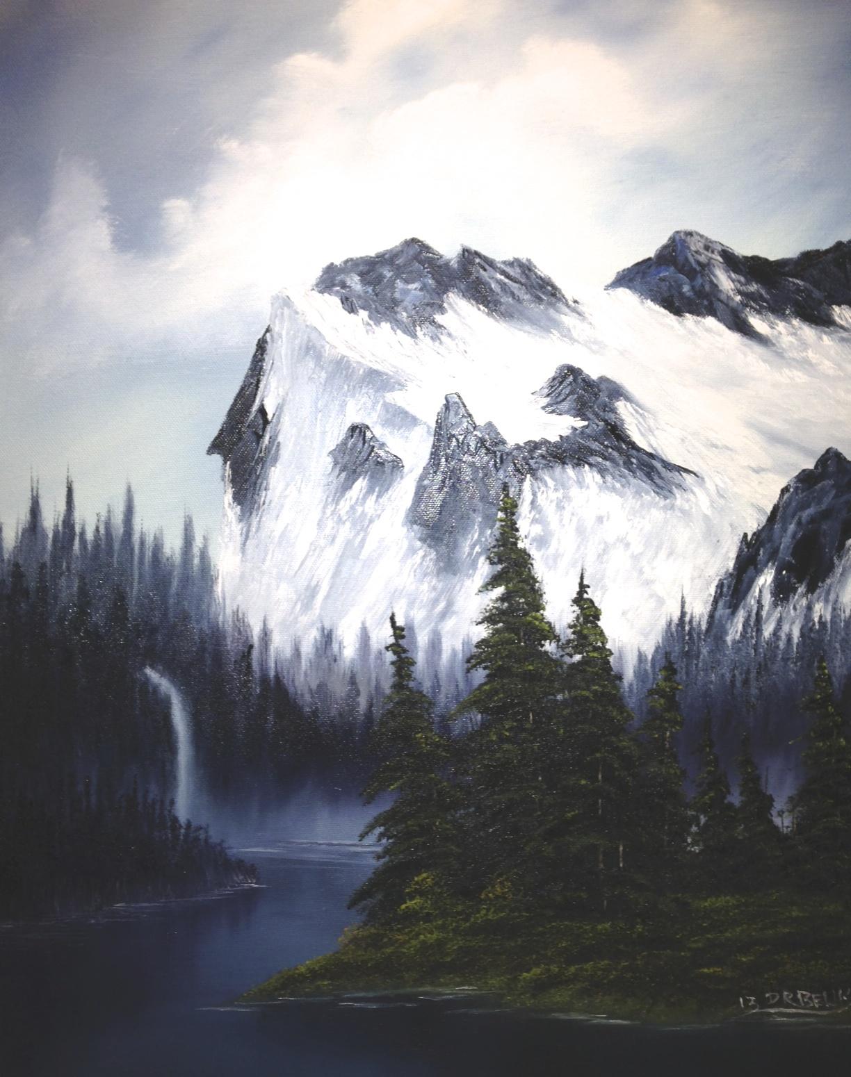 Don Belik Bob Ross Painting Classes 2019 Hobby Lobby Millard