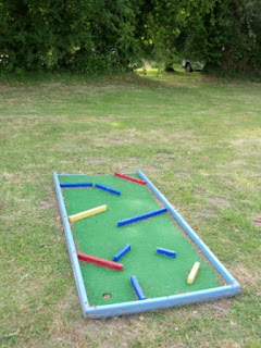 Crazy Golf at the Sutton Staithe Hotel in Stalham