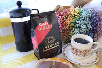 Source: Cafédirect. The Intense Roast Coffee from Cafédirect, presented in the new packaging.