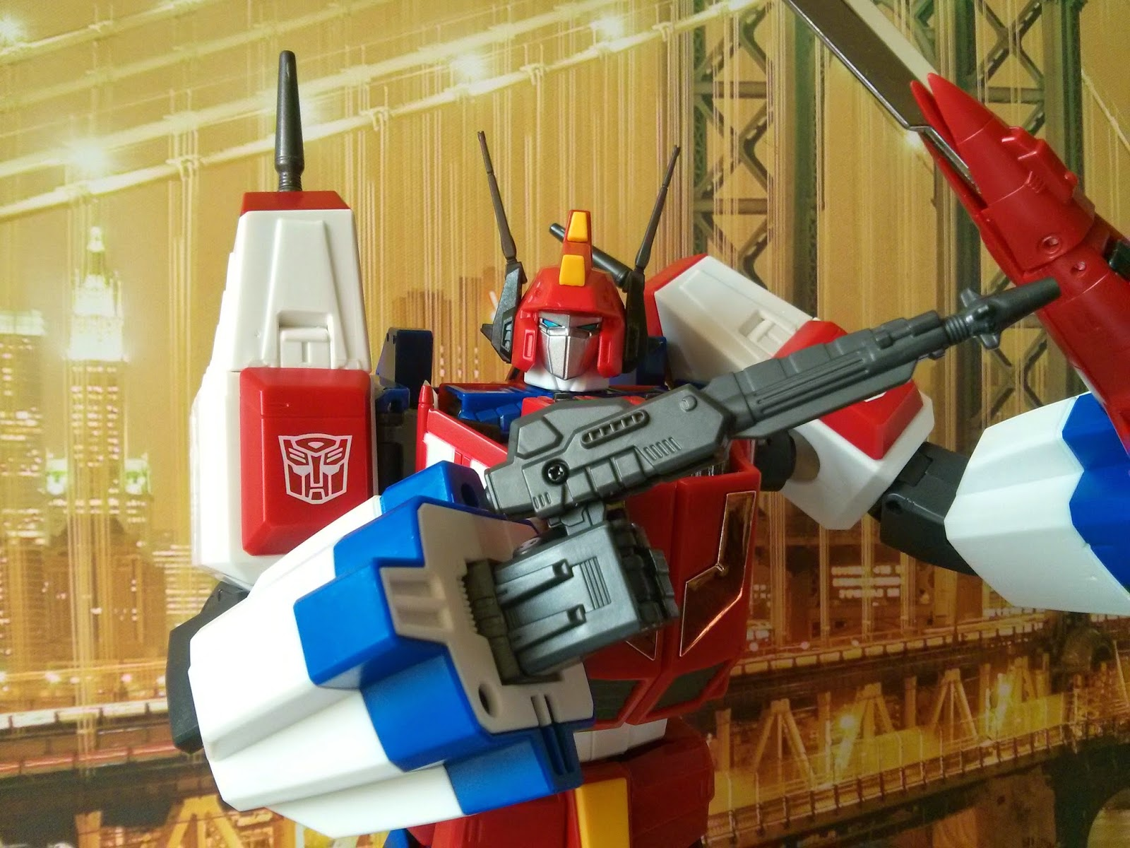 Transformers MP-24 Masterpiece Star Saber rifle