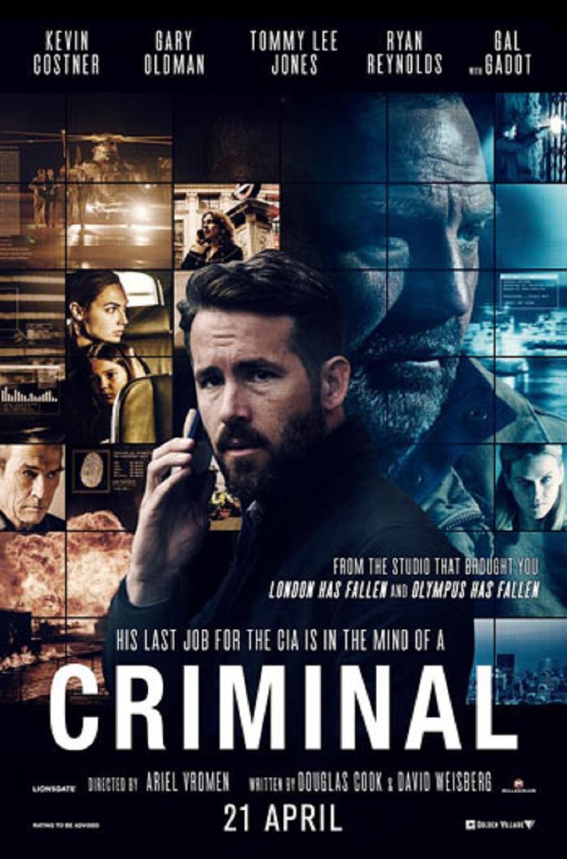 Watch Criminal (2016) Online