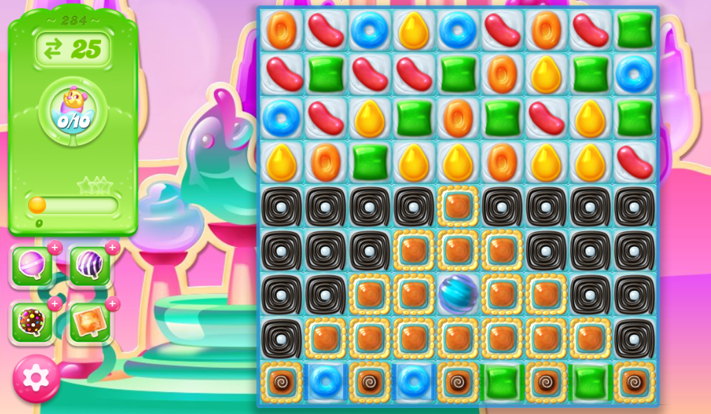 Candy Crush Jelly Saga 284