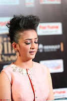 Akshara Haasan in Peachy Crop Top Choli Skirt at IIFA Utsavam Awards 47.JPG