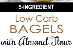 #TOPRECIPES KETO LOW CARB BAGELS RECIPE WITH FATHEAD DOUGH - GLUTEN FREE