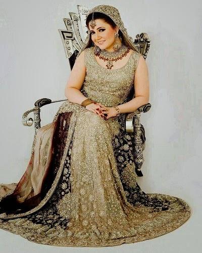 Beautiful And Latest Bridal Walima Dresses 2014-15