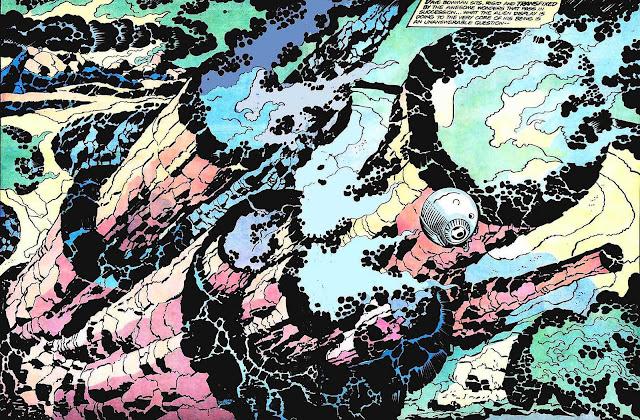 Jack Kirby spash panel