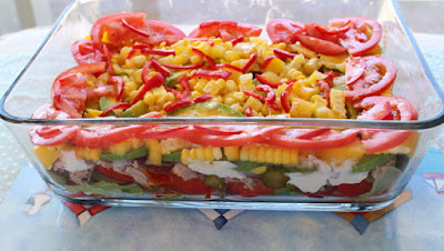 Carole's Chatter: Layered Tuna Salad Again!