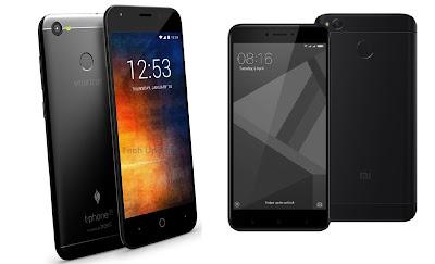 Smartron t.phone P vs Xiaomi Redmi 4