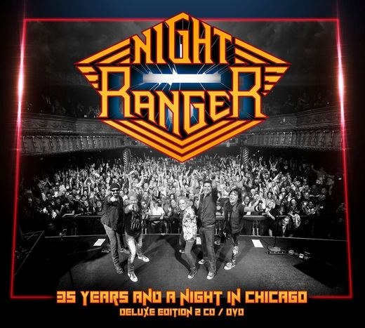 NIGHT RANGER - 35 Years And A Night In Chicago (2016) full