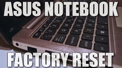 asus netbook recover windows 8 original