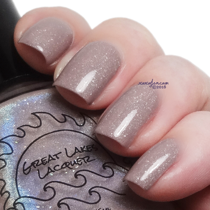 xoxoJen's swatch of Great Lakes Lacquer Make Mine A Grande