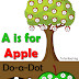 A is for Apple Dot Marker Printables