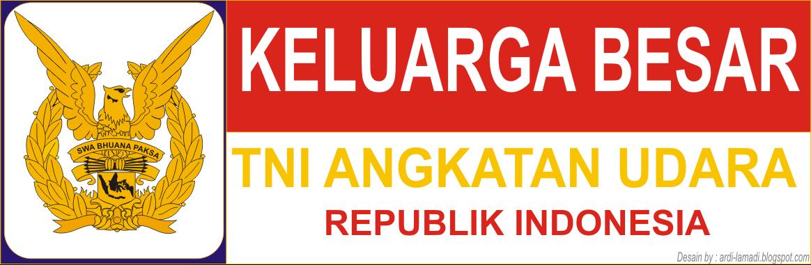 Gambar Logo Stiker Tni Angkatan Udara Indonesia Lambang