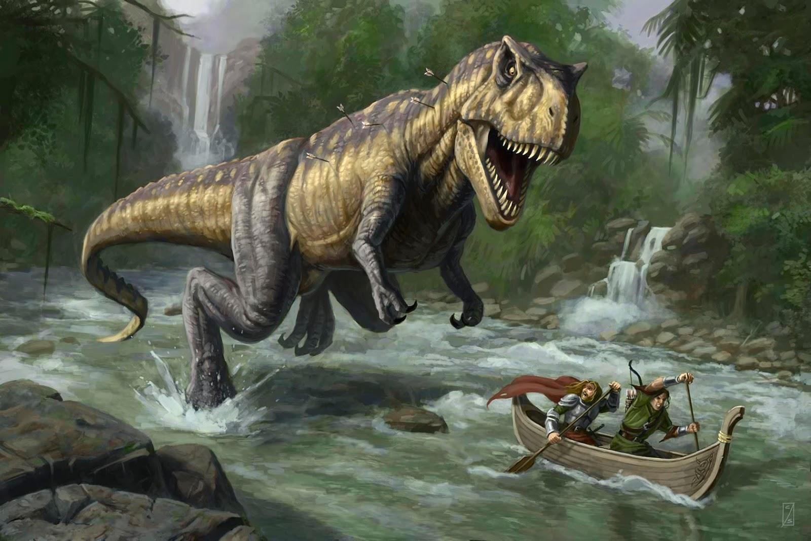 Misteri Manusia Ternyata Hidup Dengan Dinosaurus