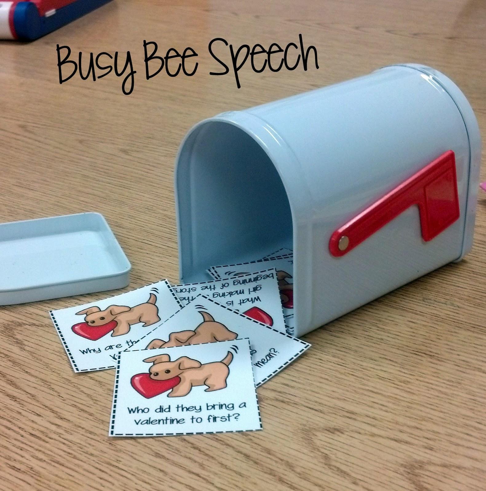 Busy Bee Speech Biscuit S Valentine S Day