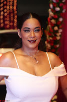 Mumaith Khan Spicy pics in Deep Neck White Gown at Zee Telugu Apsara Awards 2017 14.JPG