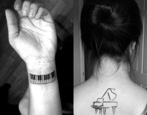 tatuagem música