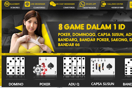 Dominoqq Terpercaya Situs Online cara bermain games Online