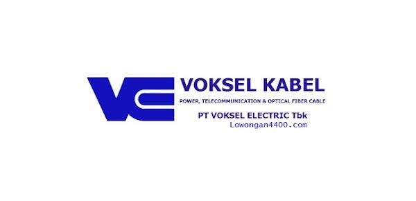 Lowongan Kerja PT. Voksel Electric Tbk Terbaru
