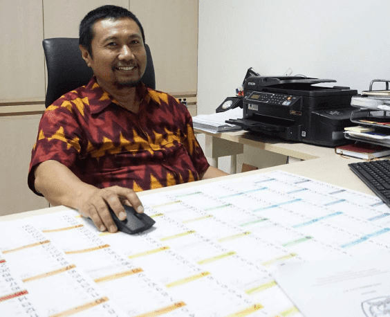 Dr. Ir. M Bakrun, MM. Kasubdit Kurikulum - Sebanyak 9300 SMK Ikuti UNBK
