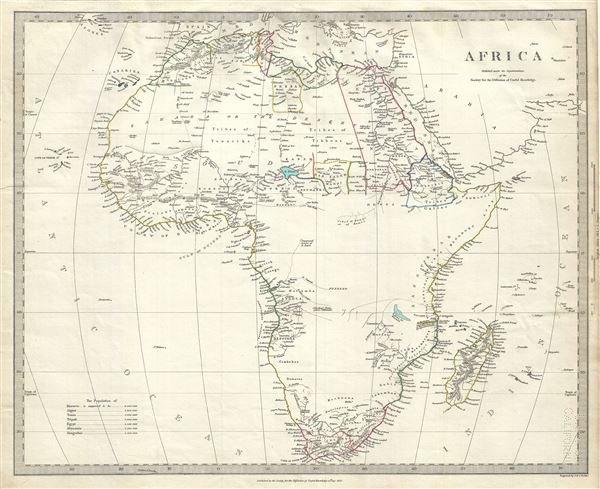 Map Of Africa 1850.Antique Prints Blog Maps Of The Scramble For Africa