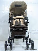 2 Pliko PK509 Cruz Buggy Baby Stroller with Alumunium Frame