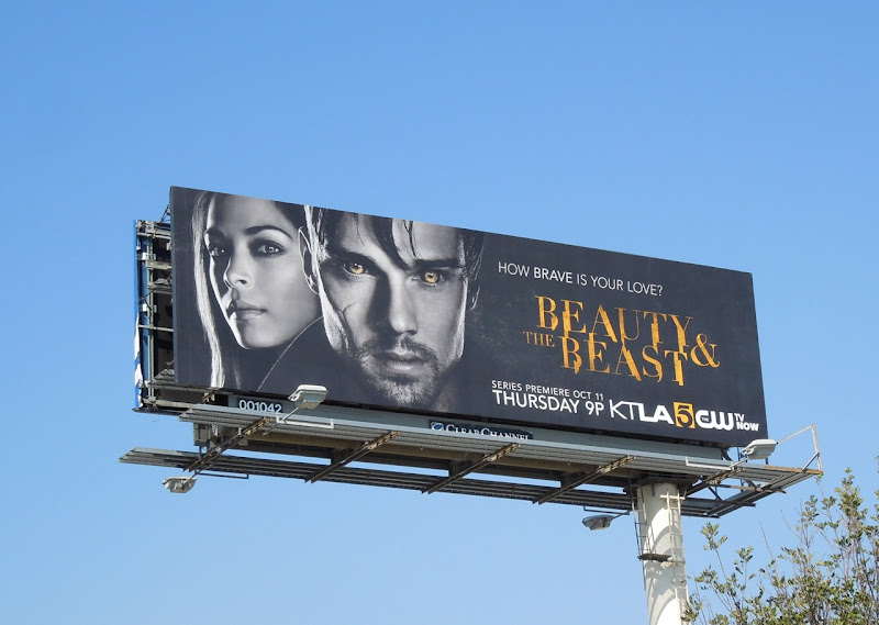 Beauty Beast CW remake billboard