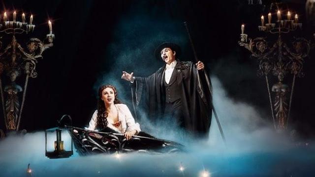 Shows e Apresentação do Fantasma da Ópera