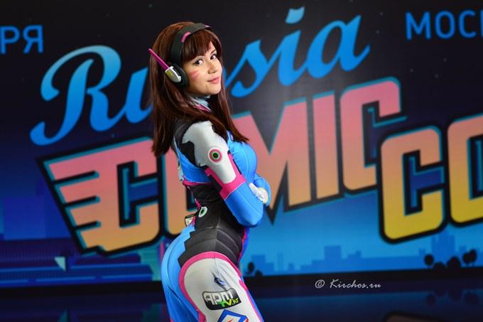 ComicConRussia 2016 OverWatch